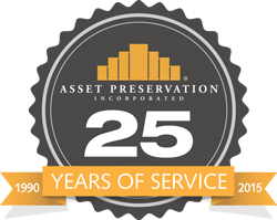 Asset Preservation's 25th Anniversary